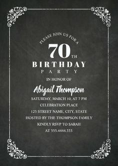 Rustic Mason Jar 50th Birthday Party Invitations Vintage Country