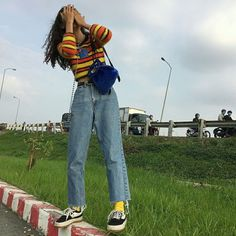 Gli Arcani Supremi (Vox clamantis in deserto - Gothian): The New Style: fashion, outfits and trends for 2019 Mode Outfits, Retro Outfits, Grunge Outfits, 90s Grunge, Cute Vintage Outfits, Boho Grunge, Hipster Outfits, 80s Fashion, Korean Fashion