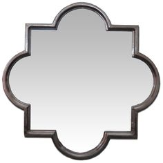 Silver Moroccan Quatrefoil 36-inch Mirror - Overstock™ Shopping - Great Deals on Mirrors