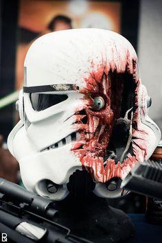 Zombie Trooper Head