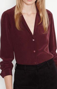 Adalyn Classic Silk Blouse