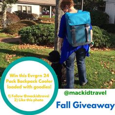 Do you love to travel? Follow Macaroni Kid Family Travel on Instagram (@mackidtravel ). You can win this fabulous Evrgrn 24 Backpack Cooler loaded with goodies - an $85 value! Find out how https://instagram.com/p/96aZnBoRhM/  #giveaway #mackid #travel