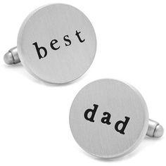 Men's Cufflinks, Inc. Best Dad Cuff Links