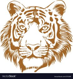 This is an attractive and powerful stencil artwork of tiger. This is a RGB color mode vector Illustration file created in Adobe Illustrator. Download a Free Preview or High Quality Adobe Illustrator Ai, EPS, PDF and High Resolution JPEG versions.