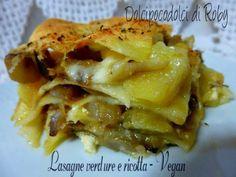 Lasagne verdura e ricotta ricetta vegana