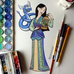 This Costume Designer's Pokémon-Inspired Disney Princesses Will Make You Weep With Joy