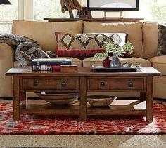 Benchwright Rectangular Coffee Table #potterybarn