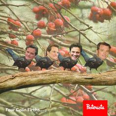 Four Colin Firths