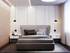 The Best 2019 Interior Design Trends - Interior Design Ideas 3 Living Rooms, Living Room Designs, Apartment Design, Bedroom Apartment, Modern Bedroom, Bedroom Decor, Modern Bedding, Luxury Bedding, Home Interior