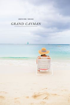 Sit back, relax and rejuvenate your mind, body and soul on a beach in the Grand Cayman Islands.