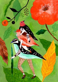 illustration-ilustracion:    Chichi Huang