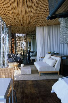 The interiors of #SingitaLebomboLodge are an inspired ensemble of #African textures, colours and cutting edge #contemporary furniture.