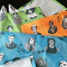 """Inspiring women"" mini sewing project completed ✔️♀💪: Marie Curie, Sophie Scholl, Michelle Obama, Frida Kahlo, Josephine Baker, Elizabeth I., Malala Yousafzai, Amelia Earhart und Hedy Lamarr. #illustration #inspirationalwomen #fabricdesign #teatowels #textiledesign #textildesign #repeatpattern #vectordesign #strongwomen #powerfrauen #equality #frauen #frauenpower #grandesmujeres #amazingwomen #womenweadmire #womeninspiringwomen #ameliaearhart #josephinebaker #frida #mariecurie… Textile Design, Fabric Design, Hedy Lamarr, Malala Yousafzai, Amelia Earhart, Josephine Baker, Marie Curie, Elizabeth I, Inspiring Women"