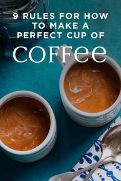 With these nine simple rules you'll be able to make your own perfect cup of coffee every morning, right in your own home. Whether your morning coffee is an estate-grown brew or just the best. Easy Cooking, Healthy Cooking, Healthy Tips, Coffee Is Life, Coffee Shop, Coffee Lovers, Funny Signs For Work, Coffee Drinks, Coffee Cups
