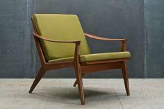 Per Oie Scandinavian Mid-Century Modern Easy Arm Lounge Chair