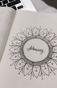 February - mandala