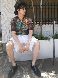 あちょーー💦 暑くて暑くてコーデ写真家で撮れる人羨ましい😭 なんかしらゴミ屋敷と化してしまう我が