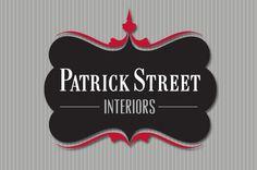 Patrick Street Interiors logo design | Design by Kalico Design www.kalicodesign.com #logo #identity #branding #design