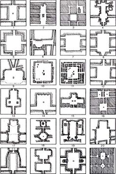 Purestform Orthogonal plans for squares Rob Krier, Typological & morphological elements of the concept of urban space, London, AD and Acroshaw Ltd Landscape Architecture Drawing, Landscape And Urbanism, Concept Architecture, Urban Landscape, Landscape Design, The Plan, How To Plan, Urban Design Diagram, Urban Design Plan