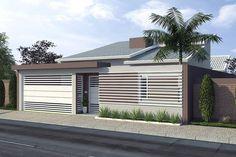 Planta de casa térrea com piscina - Projetos de Casas, Modelos de Casas e Fachadas de Casas