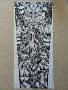 Native American tattoo design by Laura Dumbrell | Tattoo Ideas ...