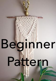 *Christmas Special ~ Macramé Ornament Hanger Pattern http://etsy.me/2iwOY5y free with Purchase of any Moonshadow Macramé Pattern. Just message me in the Note Section of your order that you want this pattern and Ill email it to you.* This Listing is for the Macramé Pattern to make