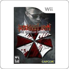 Wii Resident Evil The Umbrella Chronicles R$89.90