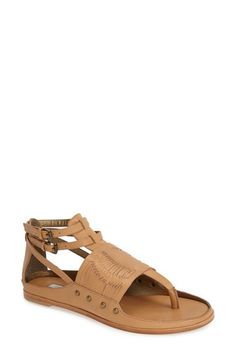 0d976e3a1754a5 CYNTHIA VINCENT  Jinxed  Leather Sandal (Women) available at  Nordstrom Flat  Sandals