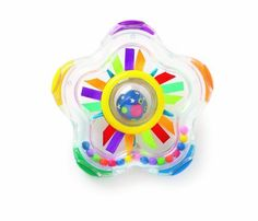 Whoozit Shooting Star Rattle by Manhattan Toy. $11.99. From the Manufacturer                Perfectly sized for little hands, this colorful rattle satisfies baby's need for visual and auditory stimulation.The Whoozit Shooting Star Rattle has won the Oppenheim Toy Portfolio Gold Seal Award for its thoughtful and creative design.                                    Product Description                Whoozit Shooting Star Rattle