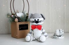 Beauty and Things (амигуруми, хендмейд) Snowman, Dog Cat, Teddy Bear, Christmas Ornaments, Holiday Decor, Disney Characters, Outdoor Decor, Pattern, Home Decor