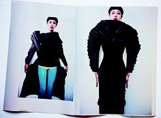 Kresta Lins  Paper coat... could do tux?