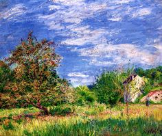 Orchard in Spring Alfred Sisley - 1889