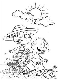 Rugrats Coloring Pages For Kids Printable Online 5