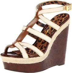Jessica Simpson Women's Ginny Wedge Sandal ** A special product just for you. See it now! : Wedges Shoes