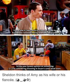 The Big Bang Theory. Foreshadowing???