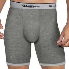 Performance Stretch Briefs are perfect for everyday athletic performance because they feel like cotton and stretch to move with you with their longer length. Double Dry technology quickly wicks moistu