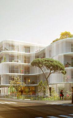 Vanves - Vanves - Hamonic + Masson & Associés  Design | #MichaelLouis - www.MichaelLouis.com