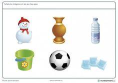 Ficha de hielo para nios de 6 a 7 aos  Fichas de Ciencias
