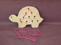 Lacing toy