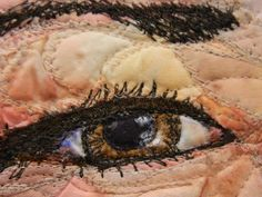 #art quilt #south dakota #eye