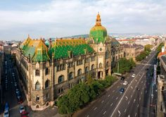 Established in 1872, the Budapest Museum of Applied Arts is the third of its kind in Europe. In addition to its extensive collections of works largely originating from the Hungarian National Museum and purchased through world fairs, it has an entire treasury of objects once owned by one of Hungary's wealthiest aristocratic families, the Esterházys. Its roof, like that of the Matthias Church, is made of Zsolnay tiles.