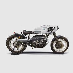 BMW Cafe Racer - ELK moto #motorcycles #caferacer #motos | caferacerpasion.com