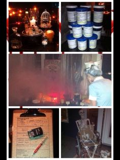 Condemned Insane Asylum party Halloween Scene, Halloween Party Themes, Halloween 2014, Creepy Halloween, Halloween Projects, Diy Halloween Decorations, Halloween Ideas, Insane Asylum Halloween, Haunted Hospital
