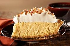 Easy Coconut Cream Pie recipe - Creamy and luscious, with a tropical hint of toasted coconut. And so simple, there's no need to wait for a special occasion.