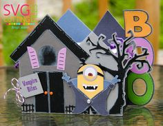"Brigit's Scraps ""Where Scraps Become Treasures"": One In A ""MINION"" Blog Hop - SVG Cutting Files & Jaded Blossom"