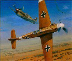 "Bf 109G-2 Trop ""Yellow 14"""