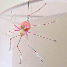 Read the legend to learn why every tree needs a spider ornament among its branches.  This simple tutorial will show you how to make one!