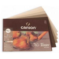 Canson Mi-Teintes blok na pastel hnědé odstíny, 24 X 309 Kc Pastel, Cake, Crayon Art, Melting Crayons