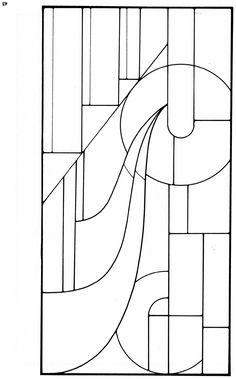 Art deco stained glass designs - Ed Sibbett – Art Deco Stained Glass Designs. 91 Designs for Workable Projects - Stained Glass Quilt, Stained Glass Designs, Stained Glass Panels, Stained Glass Patterns, Mosaic Patterns, Tiffany Kunst, Tiffany Art, Mosaic Art, Mosaic Glass
