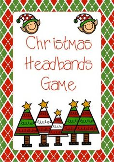 My kids at after school care love playing the game hedbanz so i my kids at after school care love playing the game hedbanz so i created these as a supplement for the holiday season i figured that i would share them solutioingenieria Images